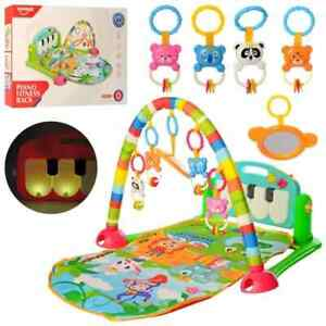3 in 1 Baby Gym Play Mat Lay & Play Fitness Music And Lights Fun Piano Girl Boy