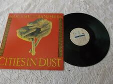 Siouxsie and the banshees Cities in dust LP Album Canada pressing