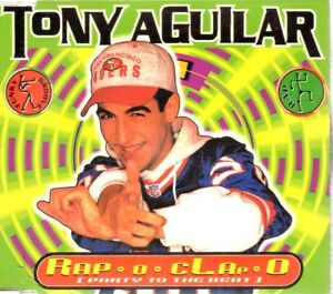 TONY AGUILAR RAP O CLAP CD Single Techno HOUSE DANCE VALE MUSIC BIT POSITIVA