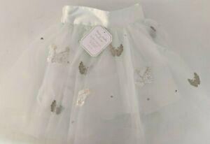 Pottery Barn Kids Monique Lhuillier Butterfly Tulle Tutu dress up skirt, green