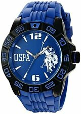 U.S. Polo Assn. Sport Mens Analog Display Quartz Blue Watch
