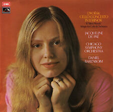 "Very Rare Australian Dupre Recording ""Dvorak Cello Concerto"" OASD 2751 EMI ex-UK"