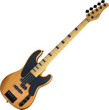 Schecter Model-T Session-5 Electric Bass Aged Natural Satin