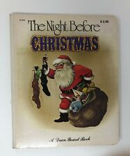 Vintage Dean Board Book THE NIGHT BEFORE CHRISTMAS Anne Grahame Johnstone