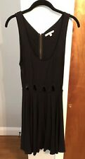 Lucca Couture Black Dress Womens Size Medium