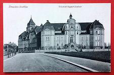 AK DRESDEN Strehlen um 1910 Friedrich August Seminar   ( 9138