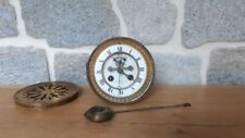 Horloge pendule de paris mouvement brocot clock orologio