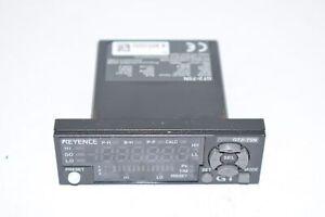 KEYENCE GT2-75N AMPLIFIER UNIT PANEL MOUNT TYPE NPN 10-30VDC 12-CORE CONNECTOR C