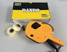 Danro 2616 two line labeller LABEL GUN CT7 starter pack with ink 2000 labels