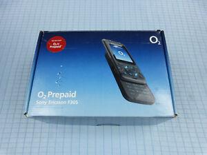 Sony Ericsson F305 Grau! O2 Simlock! Gebraucht! TOP! OVP!