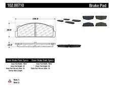 Disc Brake Pad Set-C-TEK Metallic Brake Pads-Preferred Rear Centric 102.00710