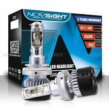 NOVSIGHT 70W 10000LM H15 LED Headlight Driving Lamp DRL Fog Light Bulbs 6500K