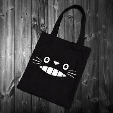 Totoro Cute Face Tote Bag Tumblr Blogger fashion homies swag cat kitten 38x42cm