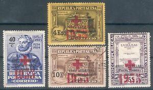 Portugal 4 Portofreiheitsmarken im Lot o,* (MICHEL EURO 18,00) feinst
