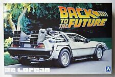 "AOSHIMA 1/24 DeLorean ""Back to the Future Part I""  scale model kit"