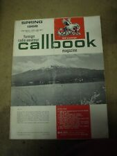 1968 Radios amatuer call book spring 1968 Foreign used