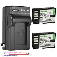 Kastar Battery AC Wall Charger for Panasonic DMW-BLF19 BLF19E & Lumix DMC-GH4
