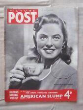 PICTURE POST - 16 FEB 1946 - THE FILM LIFE OF INGRID BERGMAN