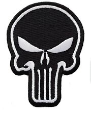 "Marvel Punisher Skull Full Back Size 8.5 x 11"" Military Tactical Jacket Patch"