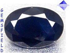 0.94ct !!! ZAFFIRO NATURALE di SRI LANKA Luminoso blu marino - lucentezza AAA
