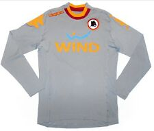 BNWT Mens AS Roma Home Kappa Goalkeeper Shirt - 2012/13 - Grey - Size: XXL