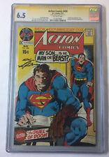 DC Comics ACTION COMICS #400 ~ Superman ~ CGC 6.5 Signature Series Neal Adams