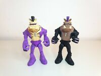 TMNT Teenage Mutant Ninja Turtles Bebop Action Figure Bundle x2 Playmates 2014