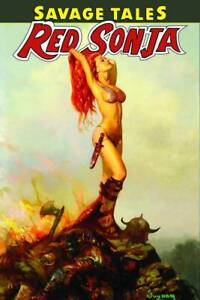 Red Sonja TPB Savage Tales of Red Sonja Softcover Graphic Novel
