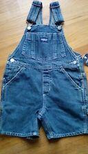 OshKosh Bgosh New w Tags Blue Denim Shorts Overalls Size...
