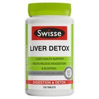 Swisse Ultiboost Liver Detox 120 Tabs