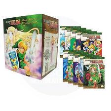 The Legend of Zelda Box Set 1-10 Manga Akira Himekawa- Manga Series