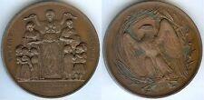 Médaille de table - LES VILLETTES Haute Loire AULAGNIER 1861-62 d=52mm FAROCHON