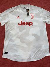 Juventus adidas 2019/20 Away Authentic Jersey - White/Orange- Men's XL