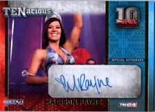 TNA Madison Rayne 2012 TENacious GOLD Authentic Autograph Card SN 2 of 100
