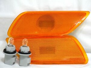 Front Corner Side Signal Parking Marker Light Lamps One Pair For 2000-2007 Focus