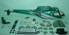 FUNKEY Scale fuselage AS350 Ecureuil (A-STAR) .50 (600) size Silver Green Color