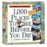 """""""VERY GOOD"""" 1,000 Places to See Before You Die Page-a-Day Calendar 2012, Schultz"""
