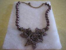 """HEIDI DAUS """"4 Seasons In Bloom"""" (Trembling) Necklace (Orig.$289.95) LAST ONE!!!!"""