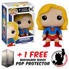 FUNKO POP VINYL DC COMICS SUPERGIRL VINYL FIGURE WITH FREE POP PROTECTOR