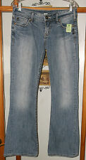 Silver Jeans Distressed Frances Boot Cut Women's 28/31