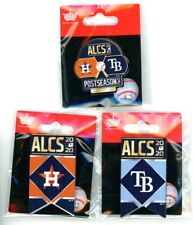 2020 ALCS Pin Choice Choose from 3 Astros vs Rays & Banner Pins world series AL