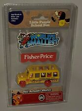 World's Smallest Fisher-Price Little People School Bus