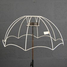 "22"" Parachute Victorian Style Retro Wire Reverse Scollop Lampshade Frame"