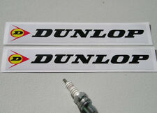 """Pair of Dunlop 8"""" stickers"""