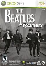 The Beatles Rock Band (Xbox 360, 2009) Rare, OOP, LN & Complete! MTV games
