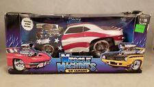 Muscle Machines 1969 '69 Camaro (patriotic) 1:18 Scale Die-cast American Flag