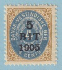 Danish West Indies 40 Mint Never Hinged Og * No Faults Extra Fine !