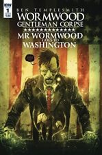 Mr Wormwood Goes To Washington #1 (Of 3) Cover B Comic Book 2017 - IDW