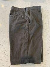 Men's Volcom Chino Style Shorts Size 30 Gray Skate Style Shorts EUC!