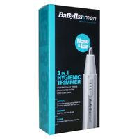 BABYLISS FOR MEN 7051BU NOSE & EAR HAIR 3 IN 1 HYGIENIC TRIMMER KIT